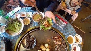 Samgyupsal, poor man's food in Korea ?