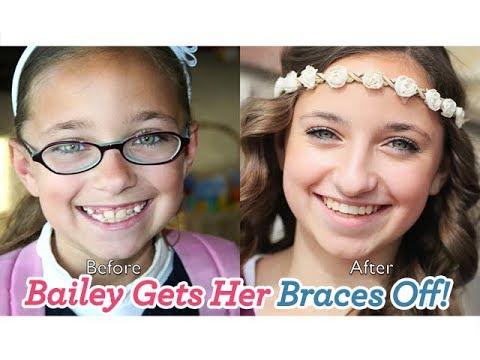Bailey Gets Her Braces Off!