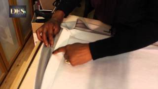 Adding interlining to curtains Part 1
