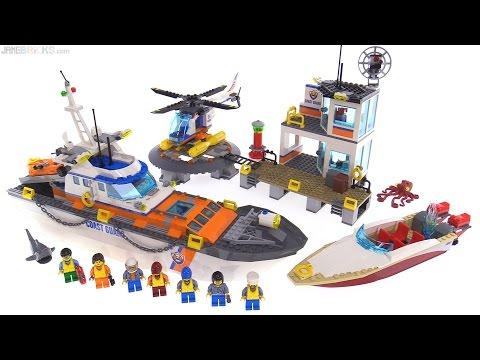 LEGO City 2017 Coast Guard Headquarters review! 60167