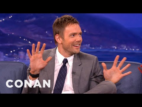 Joel McHale Knows How To Get Out Of A Speeding Ticket - CONAN on TBS