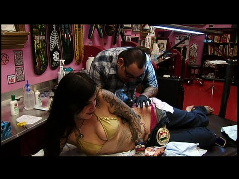 Kat Gets A Tattoo - LA Ink