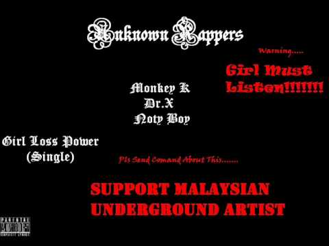 New Malaysian Tamil Song - Girl Loss Power (single) - Unknown Rappers.wmv video