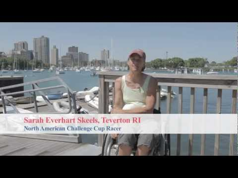 North American Challenge Cup, Sarah Everhart Skeels Interview. Disabled Sailing.
