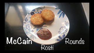 McCain Rosti Rounds Crunchy delicacy
