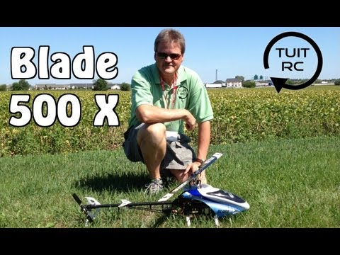 Flying The Blade 500X at Horizon Hobby with Mikel Graham and John Redman on The 2012 RC Road Trip