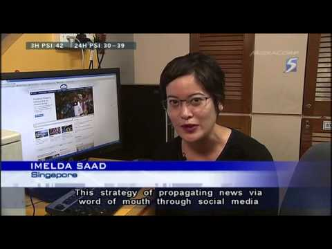 Role of Singapore's social media in recent haze problem - 04Jul2013