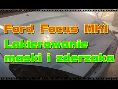 Lakierowanie maski Ford Focus MK1 + zderzak