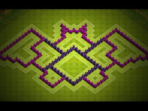 clash of clans town hall 7 batman base design youtube