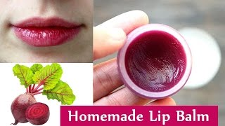 Get Baby Soft and Pink Lips Naturally at Home | Make Your Own Lip Balm for Soft Pink Lips -100% Work