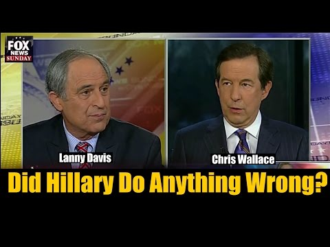 Lanny Davis and Chris Wallace Go At It over Hillary Email Debacle - Fox News Sunday
