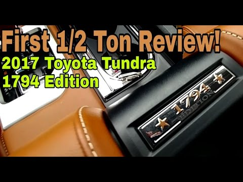 2017 Toyota Tundra CrewMax 1794 Edition. FULL REVIEW