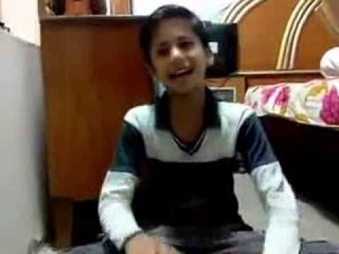 Little Kid Sings Cover Of Tumhein Dillagi Bhool Nusrat Fateh Ali Khan video