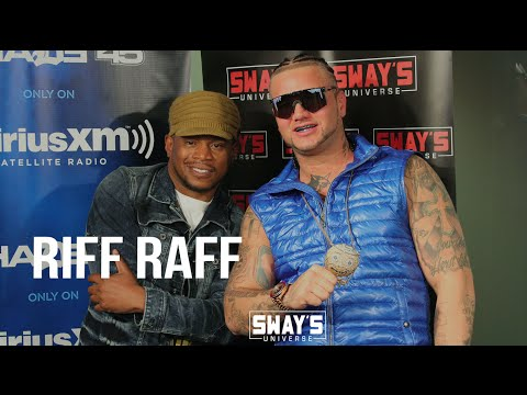 Riff Raff on Having Fun to Stay Authentic + Throws $45K Rolex Around the Studio & 5 Fingers of Death