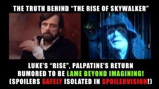 THE RISE OF SKYWALKER LAME BEYOND BELIEF! (POTENTIAL SPOILERS!)
