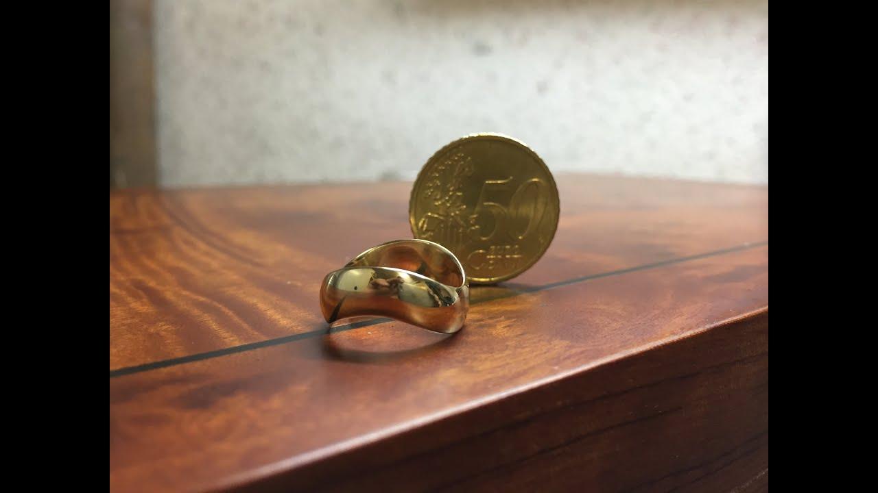Как из обычной монеты сделать кольцо