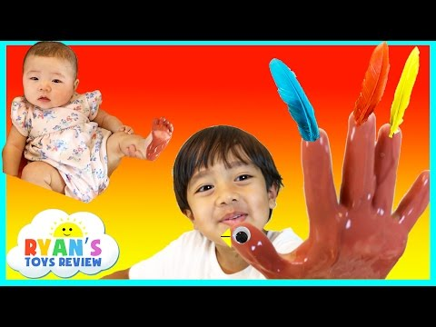 THANKSGIVING CRAFTS FOR KIDS Homemade DIY gifts Play Doh Turkey Surprise Toys Children Activities