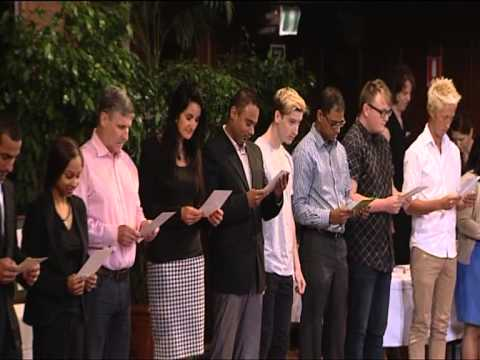 Australian Citizenship Ceremony Australia Day 2013