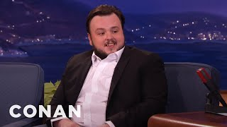 John Bradley On The Craziest Jon Snow Theories  - CONAN on TBS