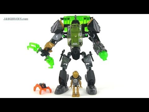 LEGO Hero Factory 44019 Rocka Stealth Machine (Invasion from Below) set review!
