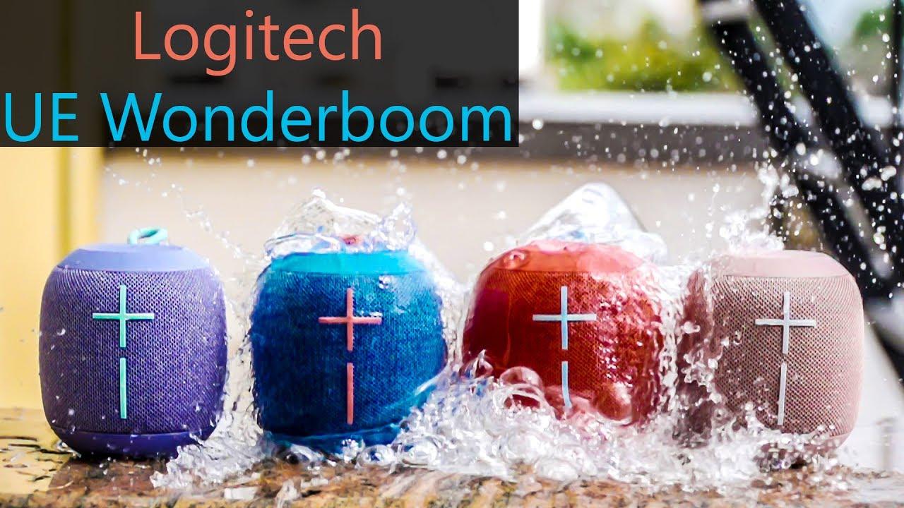 Logitech Ue Wonderboom Bluetooth Speakers Hands On Youtube