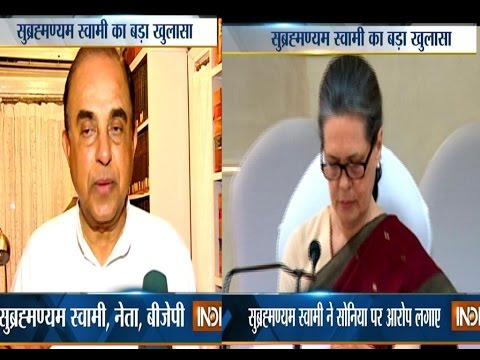 Subramanian Swamy slams Sonia Gandhi for meeting Natwar Singh