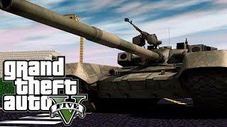 "Minecraft GTA V | Grand Theft Auto 5 Mod Ep 7! ""WE JACK A TANK"" (GTA 5)"