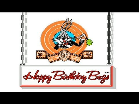 The Bugs Bunny Birthday Blowout (NES) Complete Walkthrough