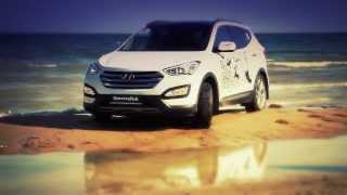 Test-drive Hyundai Santa Fe in Kazakhstan