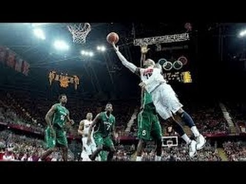 U.S. men Breaks records all on Nigeria for 3-pointers 156 to 73  HD