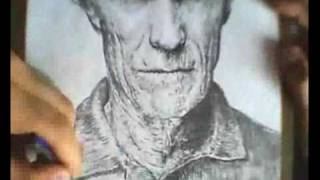 Clint Eastwood - Speed Drawing