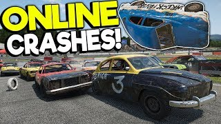 CREATING THE BIGGEST ONLINE CRASHES! - Wreckfest Multiplayer Gameplay - Car Crashes