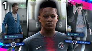 FIFA 19 THE JOURNEY Episode #1 - HUNTER vs. WILLIAMS!  (The Journey Full Movie Series)