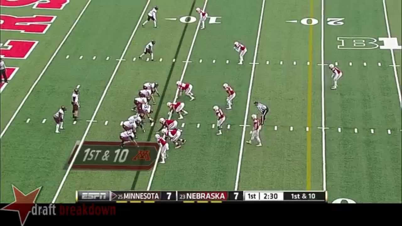 David Cobb vs Nebraska (2014)