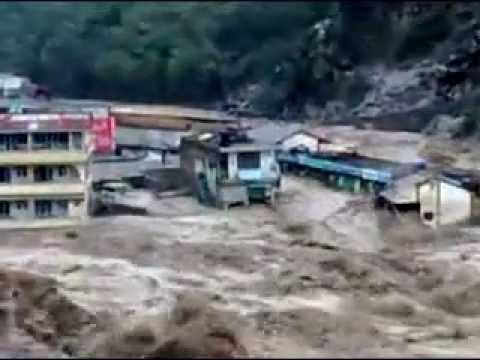 Flood In Swat Kalam. video