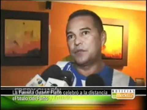 Familia de Guarín celebra o titulo de campeoes europeus