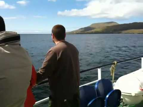 Boat to Clare Island