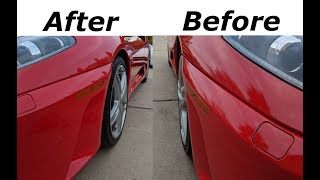 CHEAP & EASY way to make your stock Ferrari look MUCH BETTER!