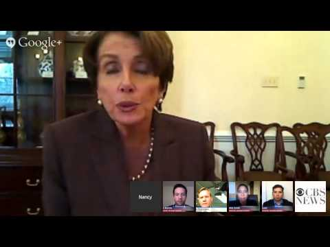 CBS News State of the Union Hangout with Nancy Pel…