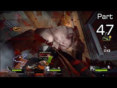 Left 4 Dead 2 Versus: Funny/Fail/Win Moments - Part 47 - Chainsaw Vs Tank