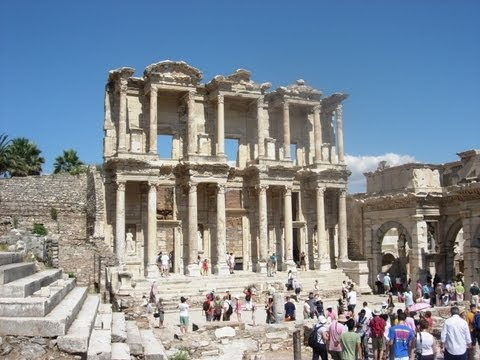 EPHESUS, TURKEY feat. THE TERRACED HOUSES, CELSUS LIBRARY & THE GRAND THEATRE