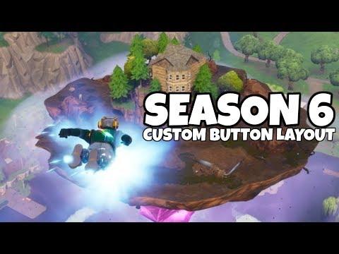 New Custom Button Layout! Builder Pro x Old School (Fortnite Battle Royale Season 6)