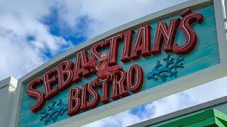 DINING REVIEW: Sebastian's Bistro at Disney's Caribbean Beach Resort