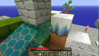 Minecraft Survival Sky Block cz.2 - mega fail