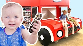 Vania and Mania play fun with toys and magic Funny videos by Vania Mania Kids