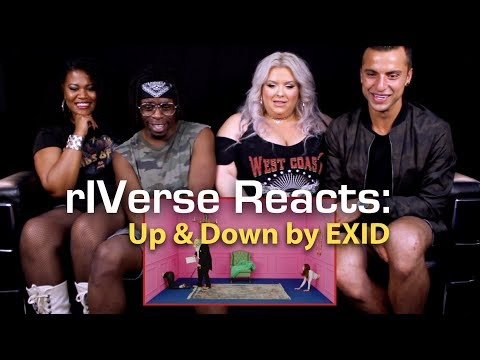 RIVerse Reacts: Up & Down By EXID - M/V Reaction