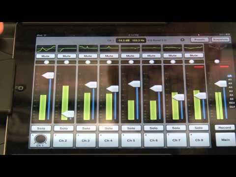 Mackie DL 1608 iPad Mixer