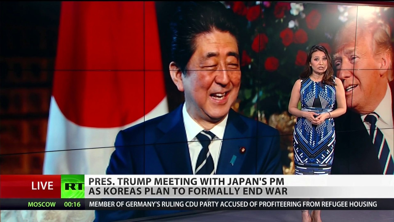 Trump and Abe meet amid Korea talks