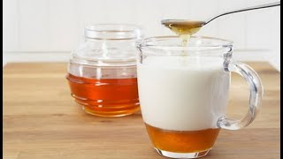 If You Drink Milk Mixed With Honey For 7 Days, THIS Will Happen To Your Body!