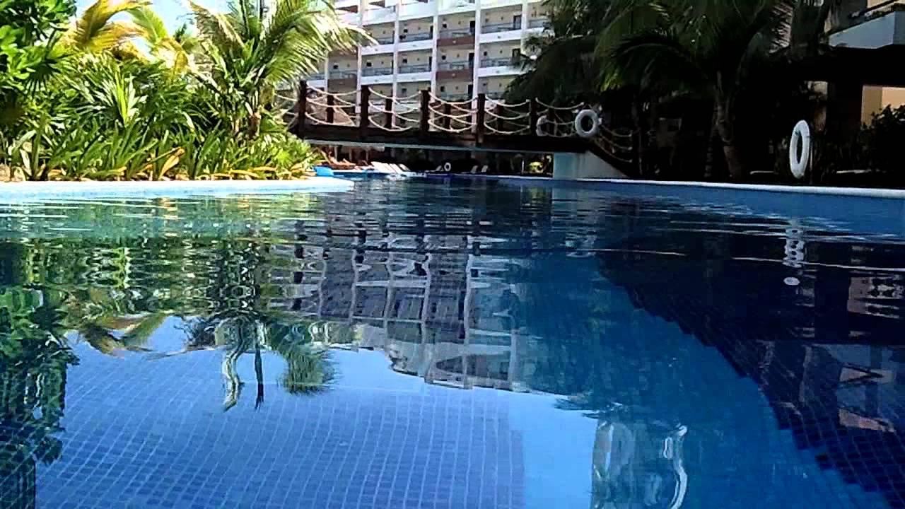 Lazy River At Playa Mujeres Cancun Mexico Youtube